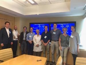 Succesvolle workshop in het MSKCC met de teams van twee nieuwe centra